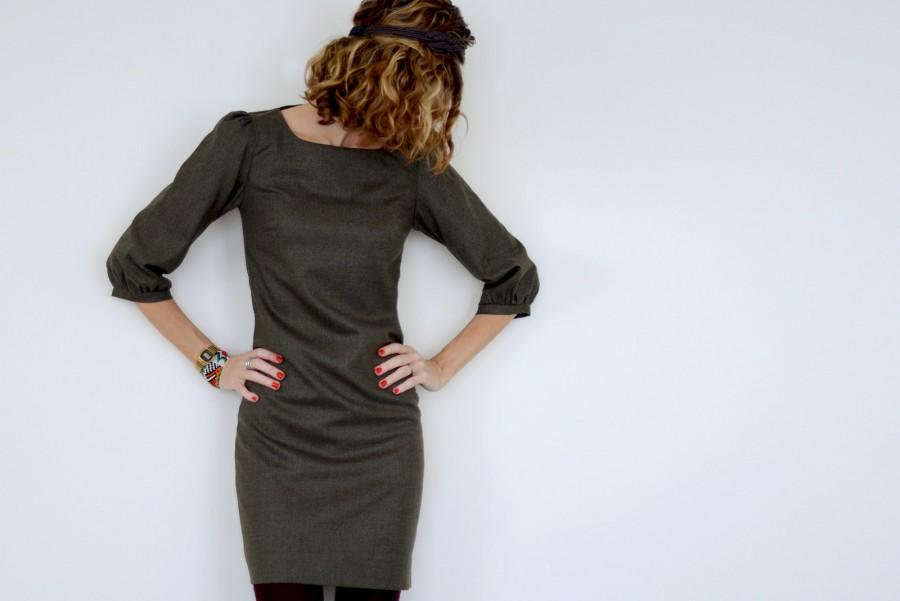patron robe femme automne
