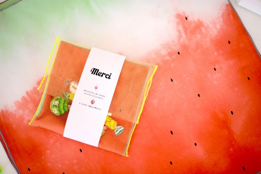 serviettes-fraise